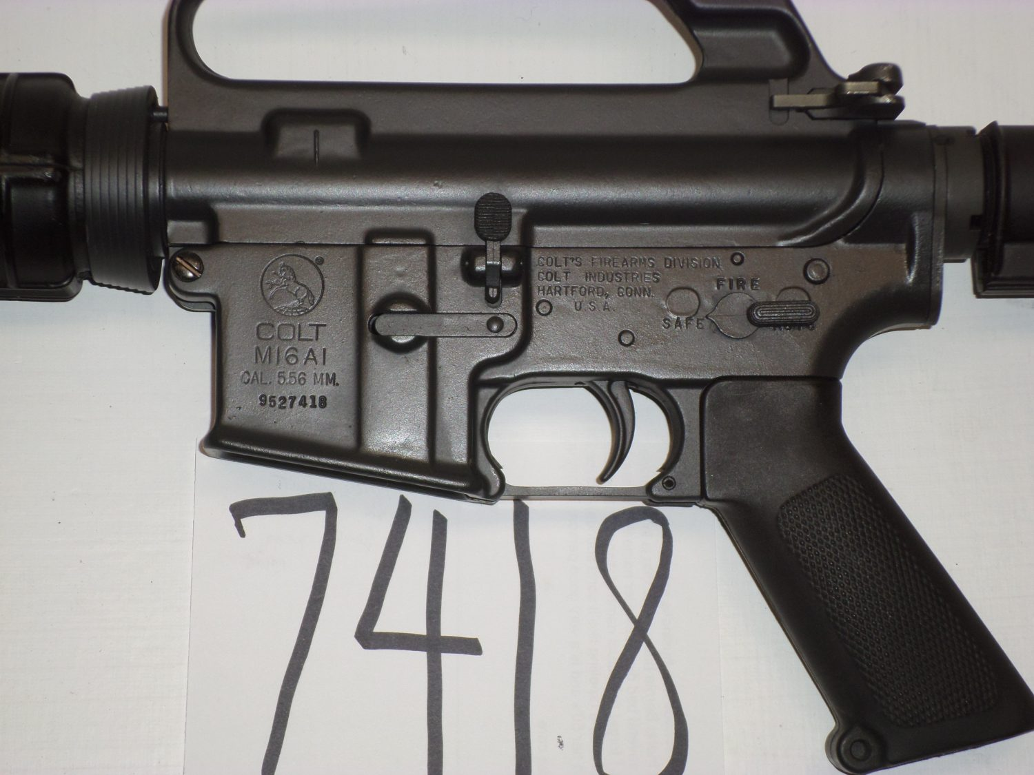 What is this? SP1 with 9 million serial number? - AR15 COM